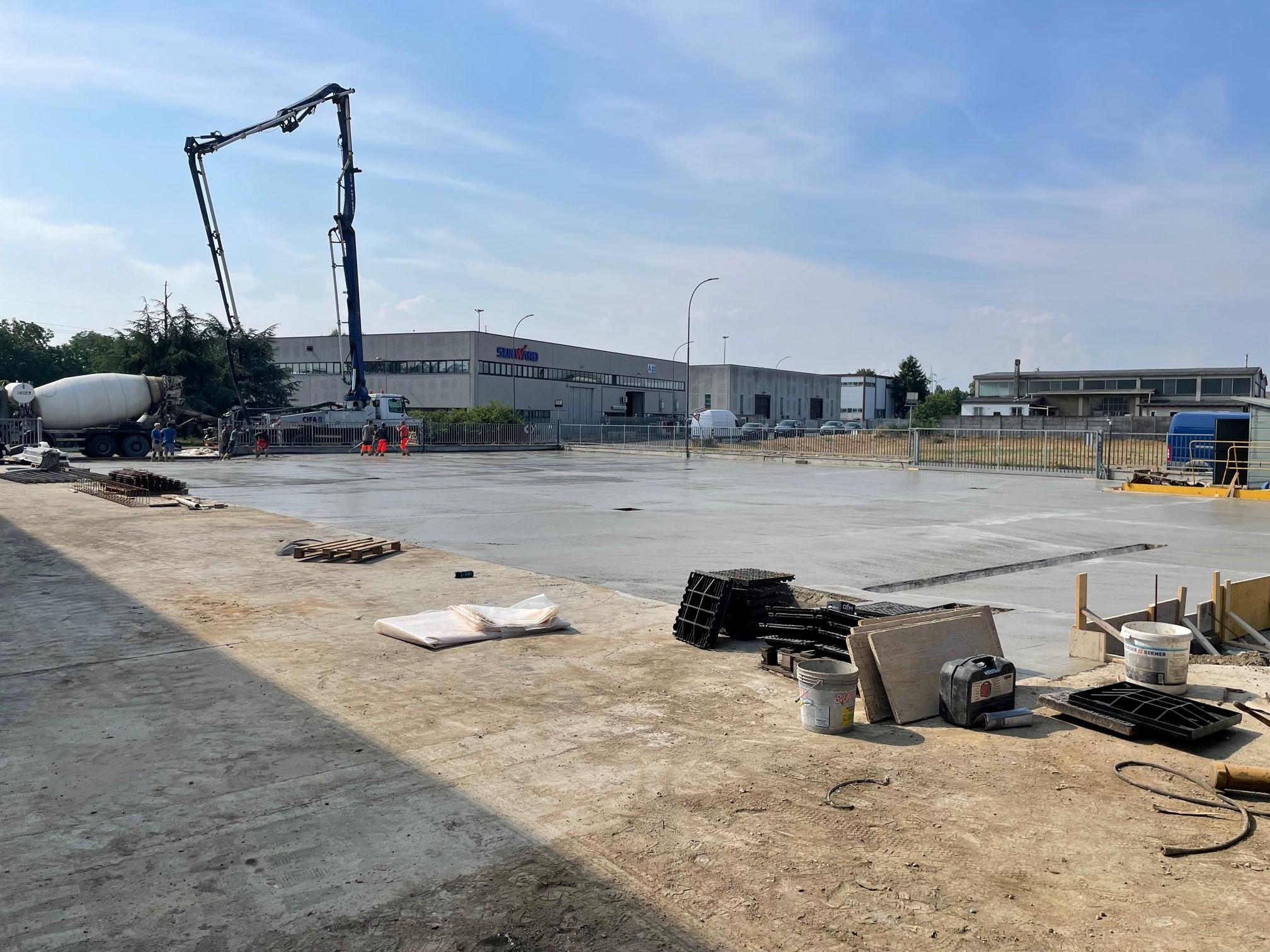 Foto del Piazzale a Giugno 2021